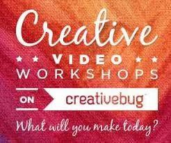Creative video workshops on creativebug